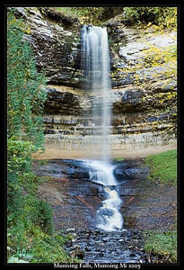 Munising Falls  Munising, Michigan 2005