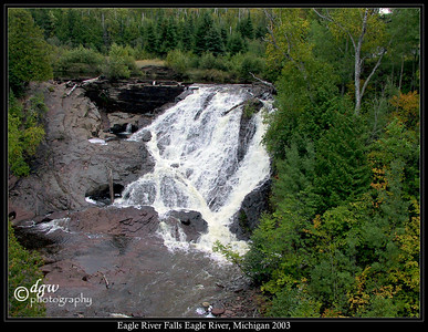 Eagle River Falls Eagle River, Michigan